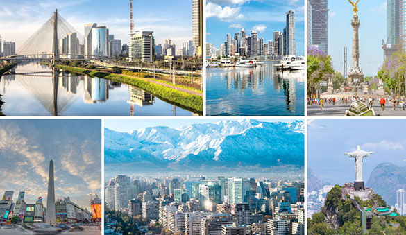 Virtual offices in Buenos Aires and 5 other cities in Argentina