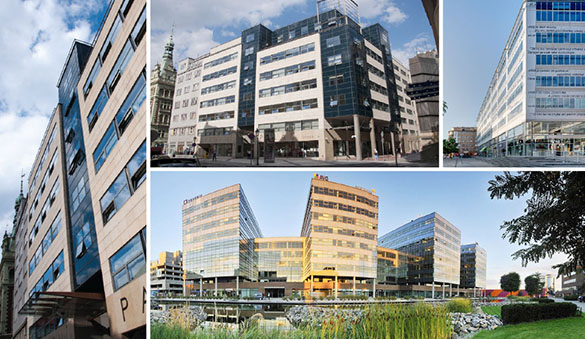 Office space in Ostrava and 14 other cities in Czech Republic