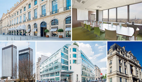 Office space in Boulogne-Billancourt and 121 other cities in France