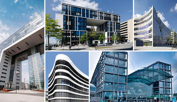 Office space in Frankfurt and 151 other cities in Germany