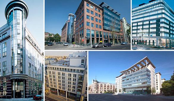 Büroräume in Budapest und 14 anderen Städten in Ungarn