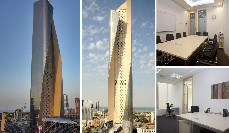 Κοινόχρηστο γραφείο στην τοποθεσία Kuwait City και σε 2 ακόμα πόλεις στη χώρα Κουβέιτ