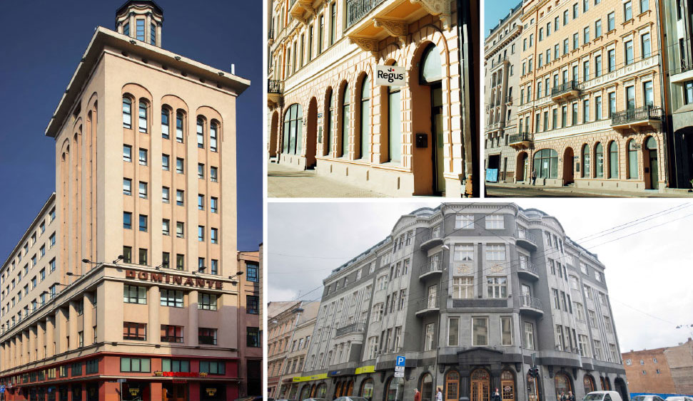 Virtual offices in Riga and 3 other cities in Latvia