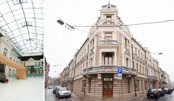 Zajednički rad u Vilnius i 4 drugih gradova u Litvanija