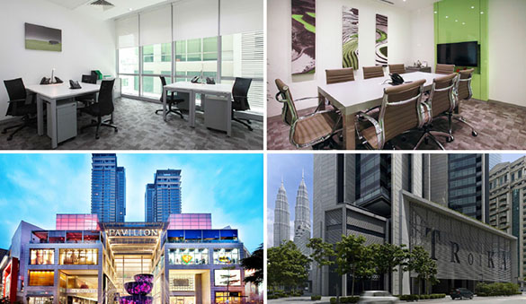 Office space in Klang and 37 other cities in Malaysia