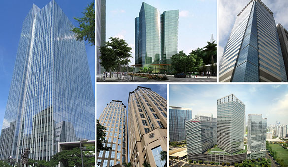 Office space in Manila and 25 other cities in Philippines