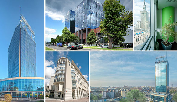 Virtual offices in Katowice and 34 other cities in Poland