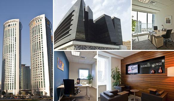 카타르의 Doha 외 9개 도시의 오피스 공간