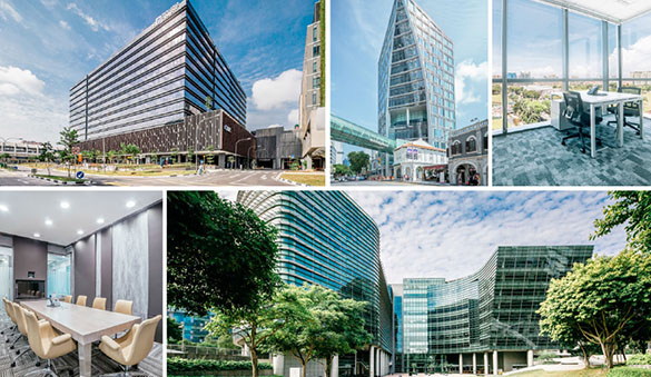 Office space in Singapore and 24 other cities in Singapore