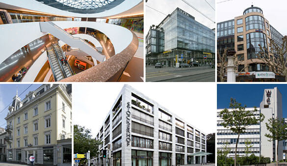 Office space in Zug and 51 other cities in Switzerland