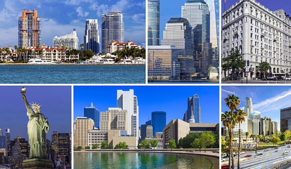 Office space in Coral Gables and 1030 other cities in United States