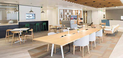 Scale up the office space you need, as you grow your business