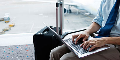 Airports - professional lounges in some of the worlds busiest airports