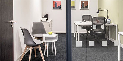 Участие в программе «Офис» предполагает использование арендованного офиса по необходимости