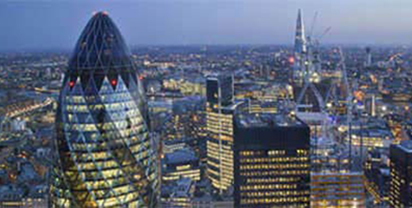 Business lounges in central locations in city centres and business districts