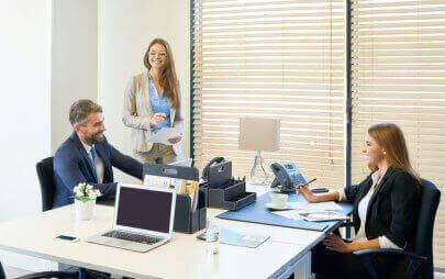 Выберите офис необходимой площади с возможностью увеличить его в будущем.