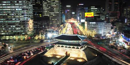 서울시의 오피스 공간