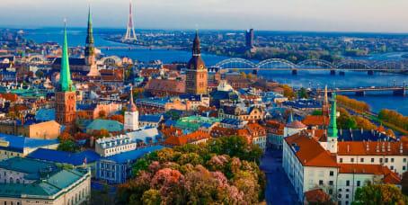 Biroja telpa: Rīga