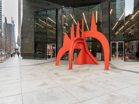 Gebäude in 590 Madison Avenue, IBM Building, 21st Floor in New York 1