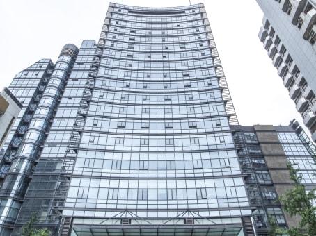 建筑位于杭州市延安路468号, 外经贸广场综合楼B座8层, 下城区 1