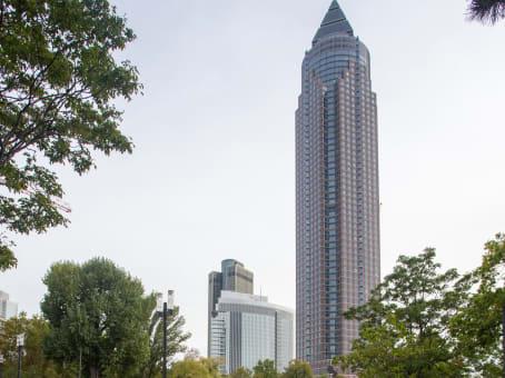 建筑位于Frankfurt9th, 10th, 22nd and 23rd floor, Messeturm 1
