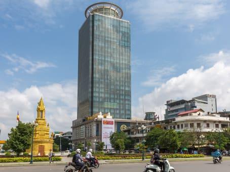 建筑位于Phnom Penh18/F Canadia Bank Tower, No. 315, Ang Doung St, Corner Monivong Blve 1