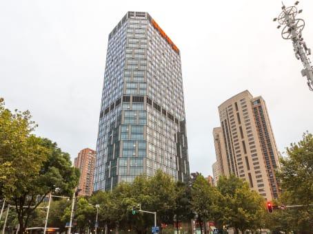 建筑位于武汉市中山大道1628号, 武汉天地企业中心8层, 江岸区 1