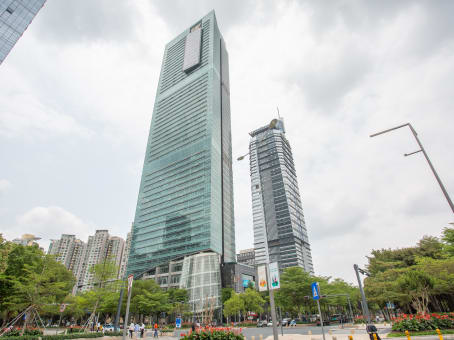 建筑位于深圳市益田路6009号, 新世界中心23楼, 福田区 1