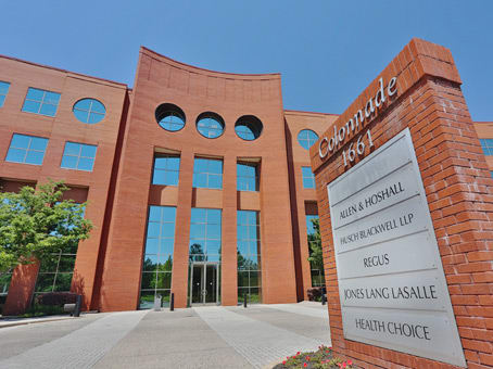 建筑位于Memphis1661 International Drive, Suite 400 1