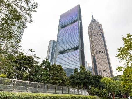 建筑位于广州市珠江西路15号, 珠江城21楼, 天河区 1