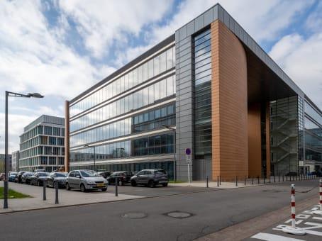 建筑位于LuxembourgRegus Kirchberg City Centre, 2nd floor, 26-28 Rue Edward Steichen 1