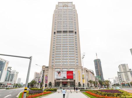 建筑位于珠海市九洲大道中1009号, 钰海环球金融中心12层, 香洲区 1