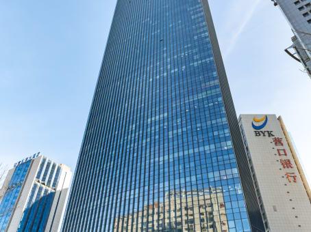 建筑位于沈阳市北站路61号, 财富中心A座17层, 沈河区 1