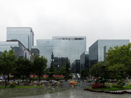 建筑位于西安市南关正街88号, 西安长安国际中心A座11层, 碑林区 1