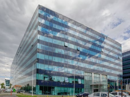 Building at Bd. Dimitrie Pompeiu, 5-7 Sector 2 in Bucharest 1