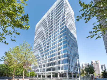 建筑位于北京市望京街8号, 利星行广场C座5层, 朝阳区 1