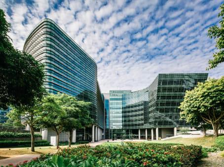 建筑位于Singapore51 Changi Business Park Central 2, #04-05 The Signature 1