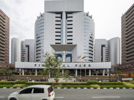 建筑位于LabuanUnit Level 14 (B) & 14 (C) Main Office Tower, Financial Park Labuan Complex, Jalan Merdeka, Federal Territory of Labuan 1