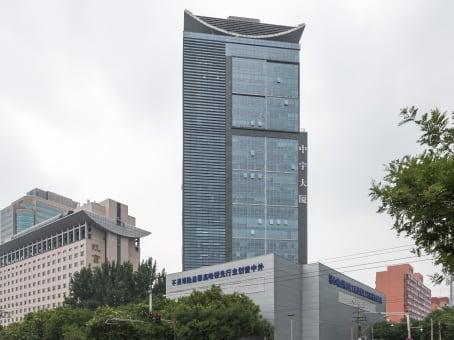 建筑位于北京市工体北路甲6号, 中宇大厦6层608, 朝阳区 1