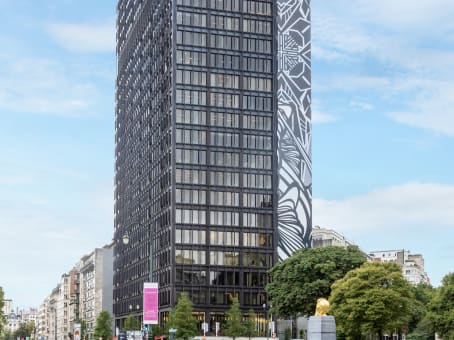 建筑位于BrusselsAvenue Louise / Louizalaan 480, IT Tower, 18° floor 1