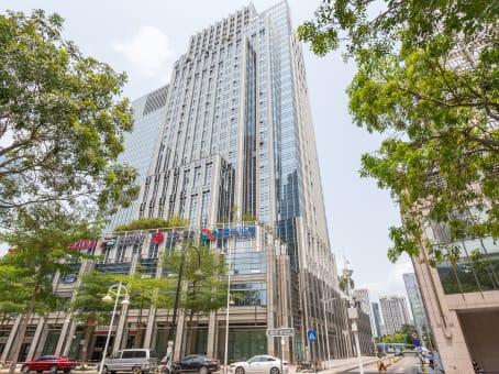 建筑位于深圳市深南大道4001号, 时代金融中心14层, 福田区 1