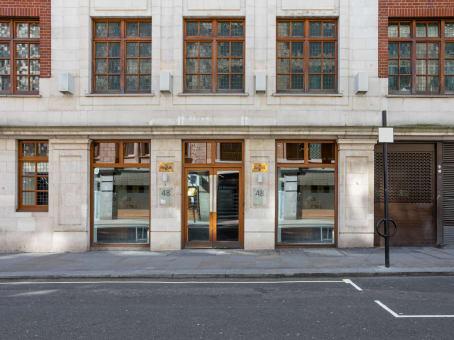 建筑位于London48 Warwick Street 1