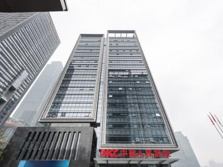 建筑位于重庆市金融街3号, 中国人保寿险大厦10层, 江北区 1