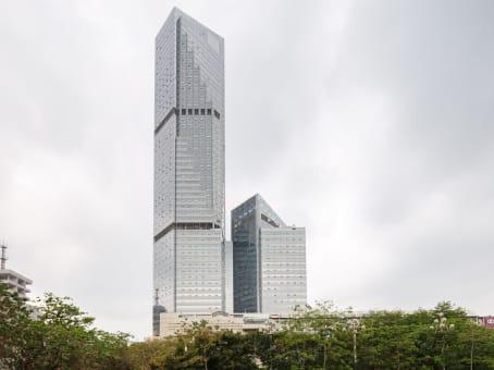 建筑位于广州市中山三路33号, 中华国际中心A座14, 越秀区 1