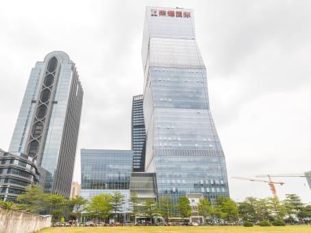 建筑位于佛山市融和路25号, 荣耀国际金融中心17层, 南海区 1