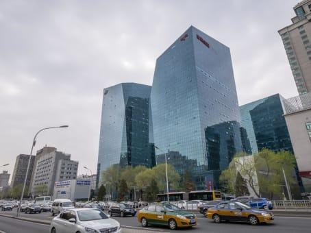建筑位于北京市北三环东路36号, 环球贸易中心A座3层, 东城区 1