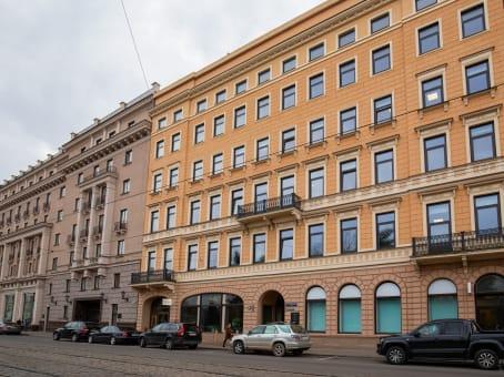 建筑位于RigaAspazijas bulvaris 20, 2nd, 3rd, 4th floor 1