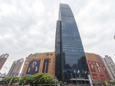 建筑位于上海市长宁路1018号, 龙之梦大厦24层, 长宁区 1
