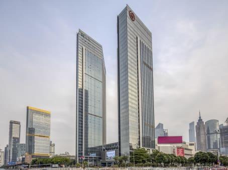 建筑位于广州市天河路208号, 粤海天河城大厦27层, 天河区 1