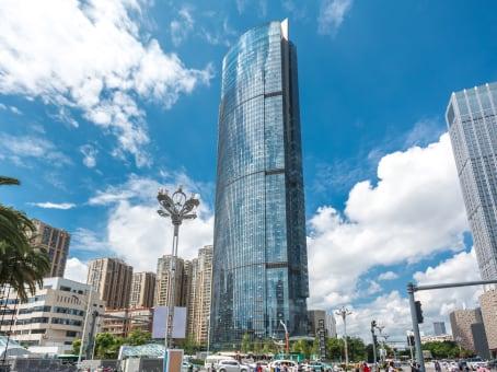 建筑位于昆明市北京路926号, 同德昆明广场写字楼13A层, 盘龙区 1